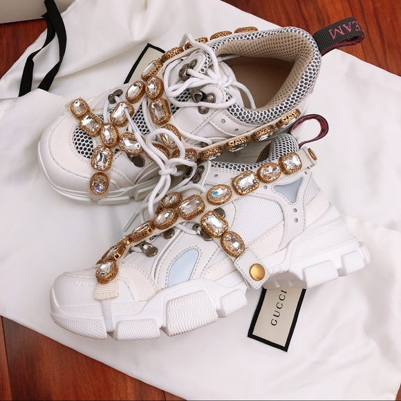 Gucci Shoes   Flashtrek Sneaker With